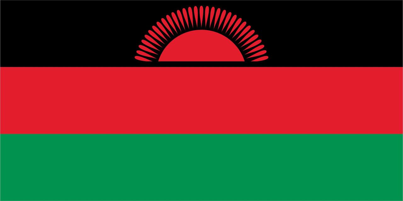 Флаг Малави размер 1 х 2 метра.