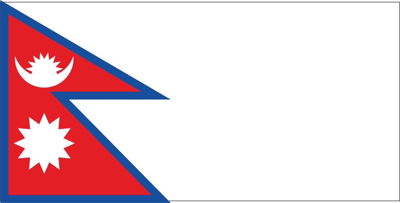 Флаг Непала размер 1 х 2 метра.