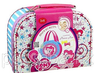 "D&M Шьем сумочку ""My Little Pony. Пинки Пай"""