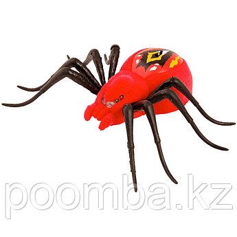 Интерактивный паук Wild Pets (свет, движение), красный