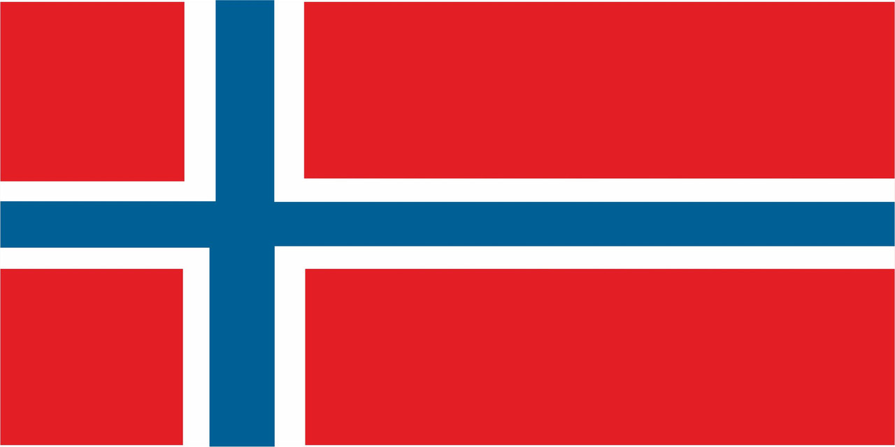 Флаг Норвегии размер 1 х 2 метра.