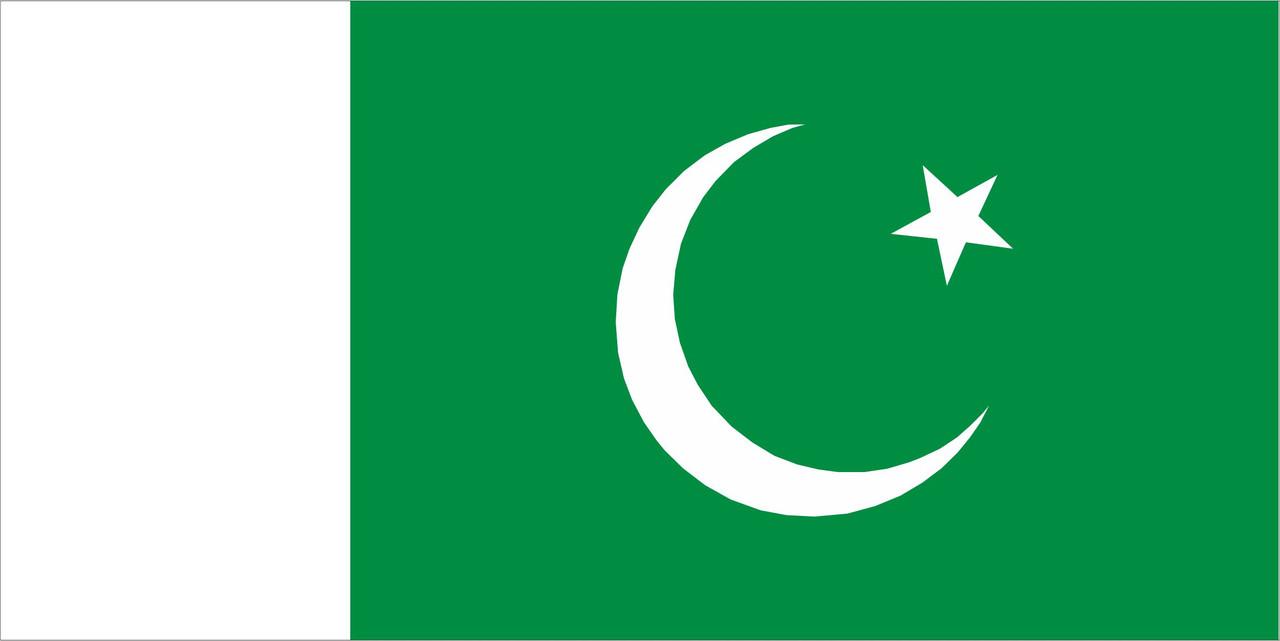 Флаг Пакистана 1 х 2 метра.