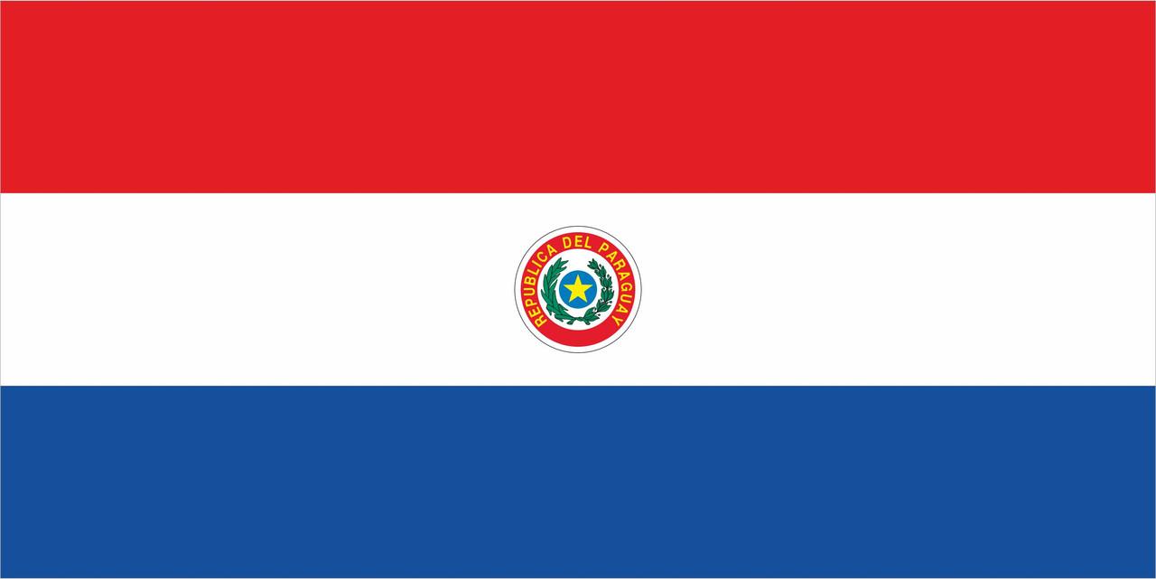 Флаг Парагвая 1 х 2 метра.