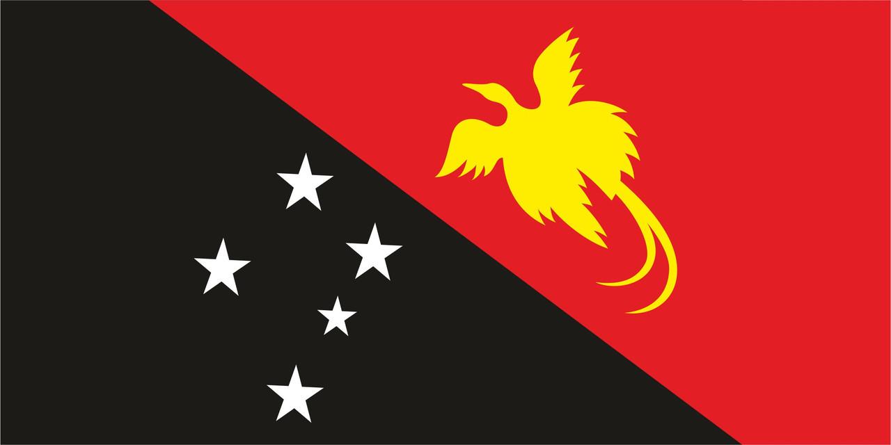 Флаг Папуа-Новая Гвинея 1 х 2 метра.