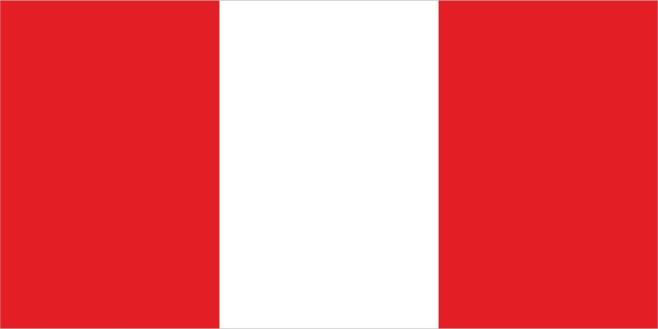 Флаг Перу 1 х 2 метра.