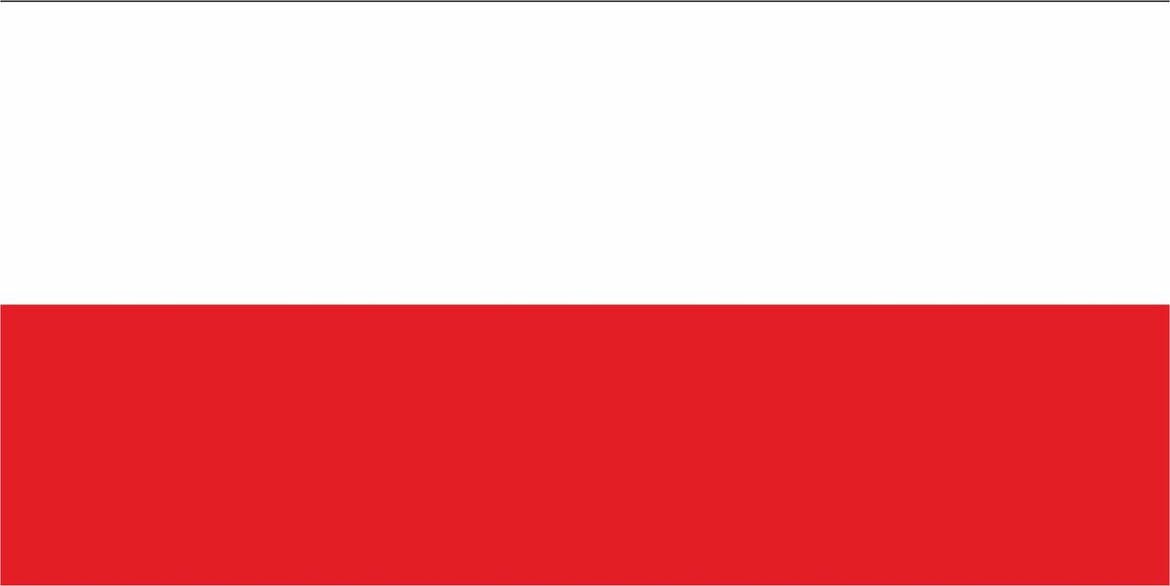Флаг Польши 1 х 2 метра.