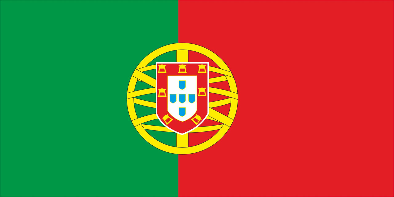 Флаг Португалии 1 х 2 метра.