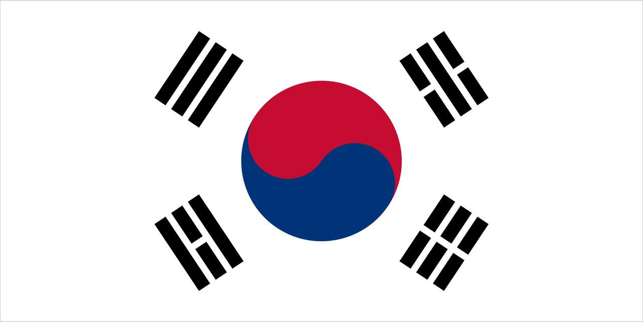 Флаг Республики Корея 1 х 2 метра.