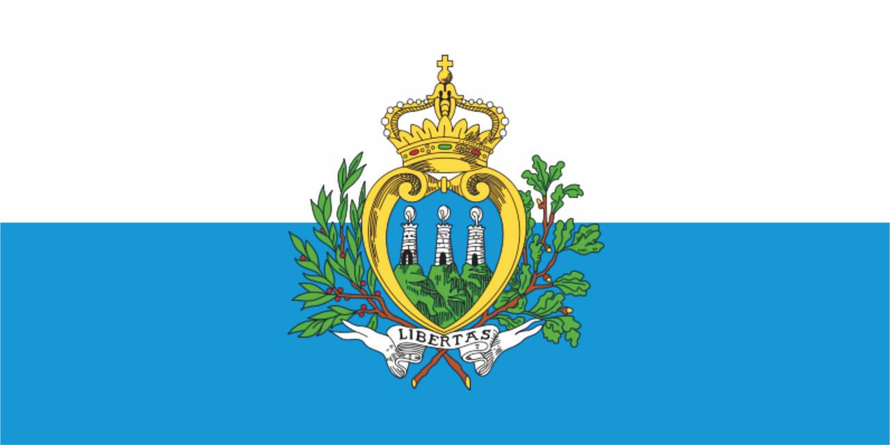 Флаг Сан Марино 1 х 2 метра.