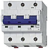 Автоматический выключатель 3-полюса 125А на рейку DIN