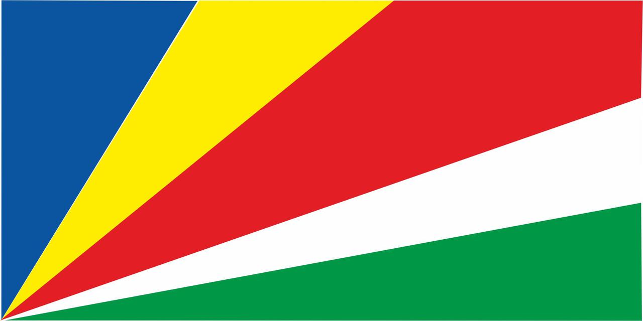 Флаг Сейшельских Островов 1 х 2 метра.