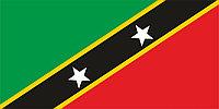 Флаг Флаг Сент-Китса и Невиса 1 х 2 метра.