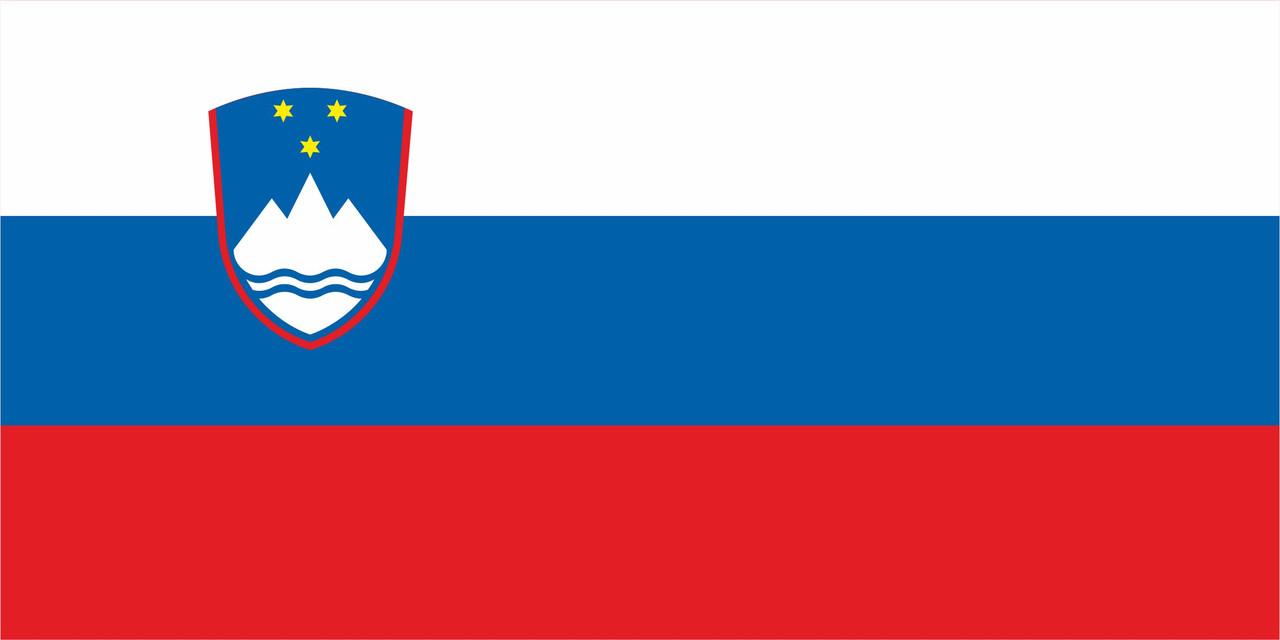 Флаг Словении 1 х 2 метра.