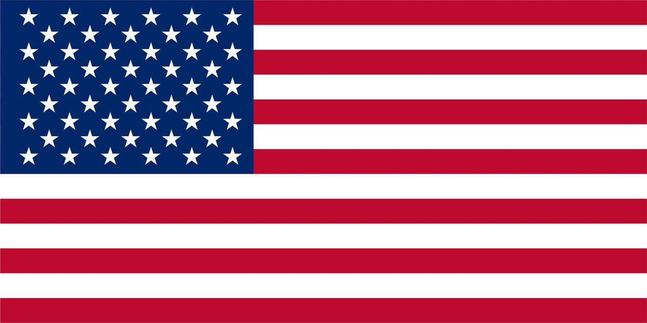 Флаг США 1 х 2 метра.