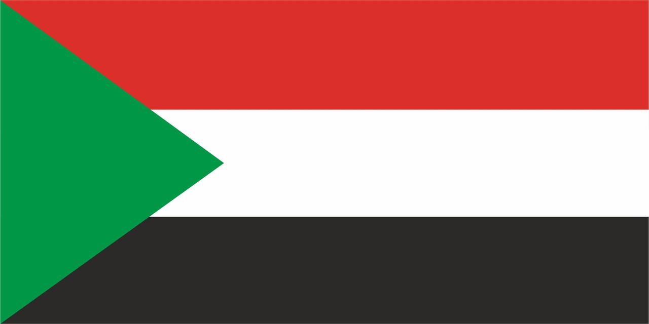 Флаг Судана 1 х 2 метра.