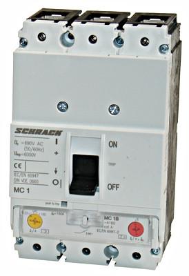Автоматический выключатель 3 полюса 160А