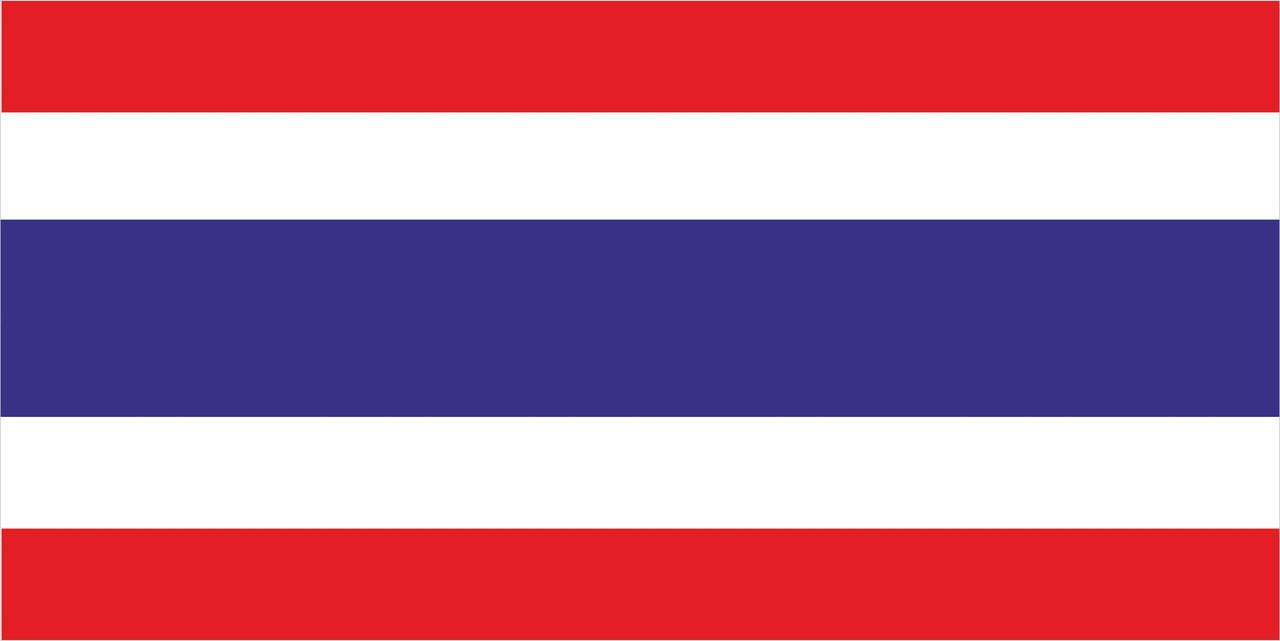 Флаг Таиланд 1 х 2 метра.