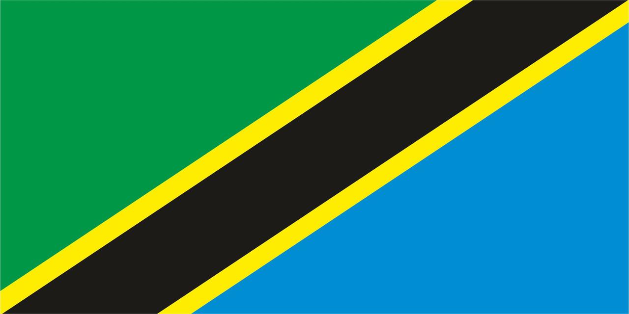 Флаг Танзания 1 х 2 метра.