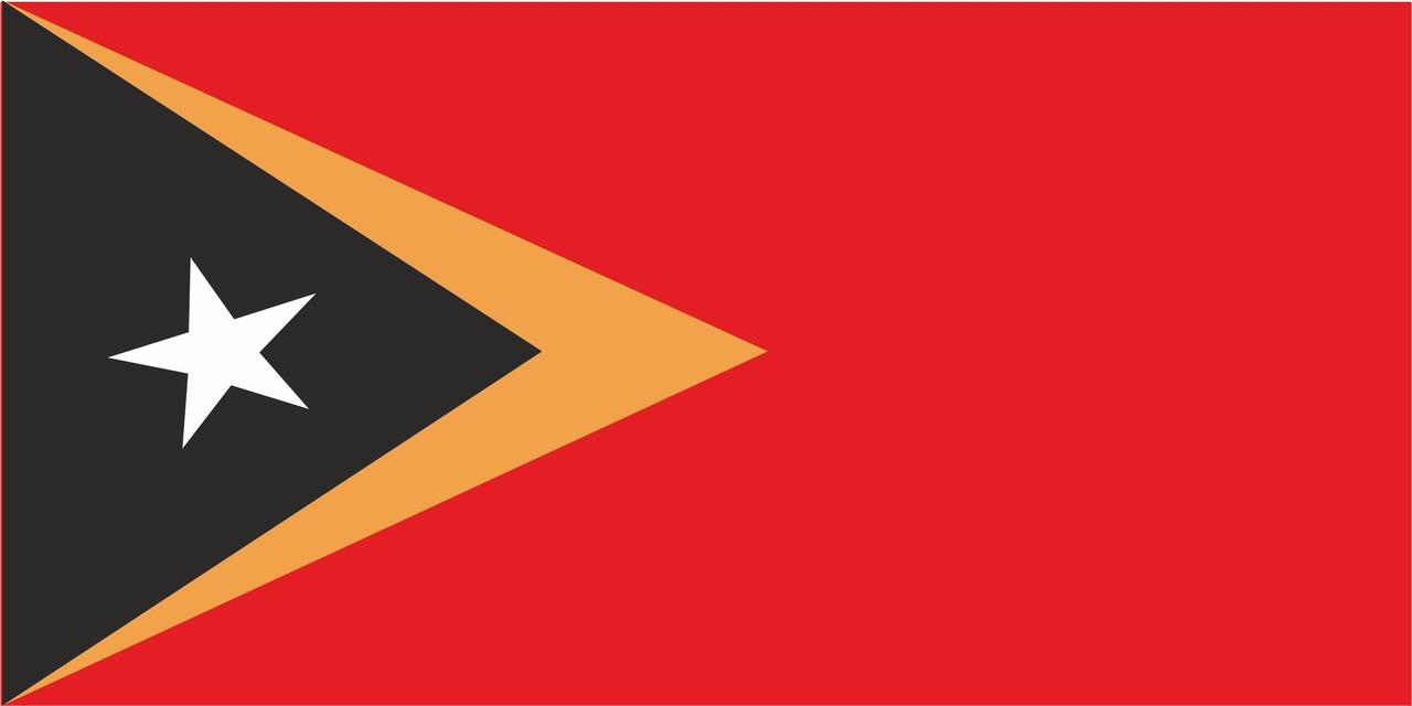 Флаг Тимор-Лесте 1 х 2 метра.