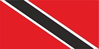 Флаг Тринидад и Тобаго 1 х 2 метра.