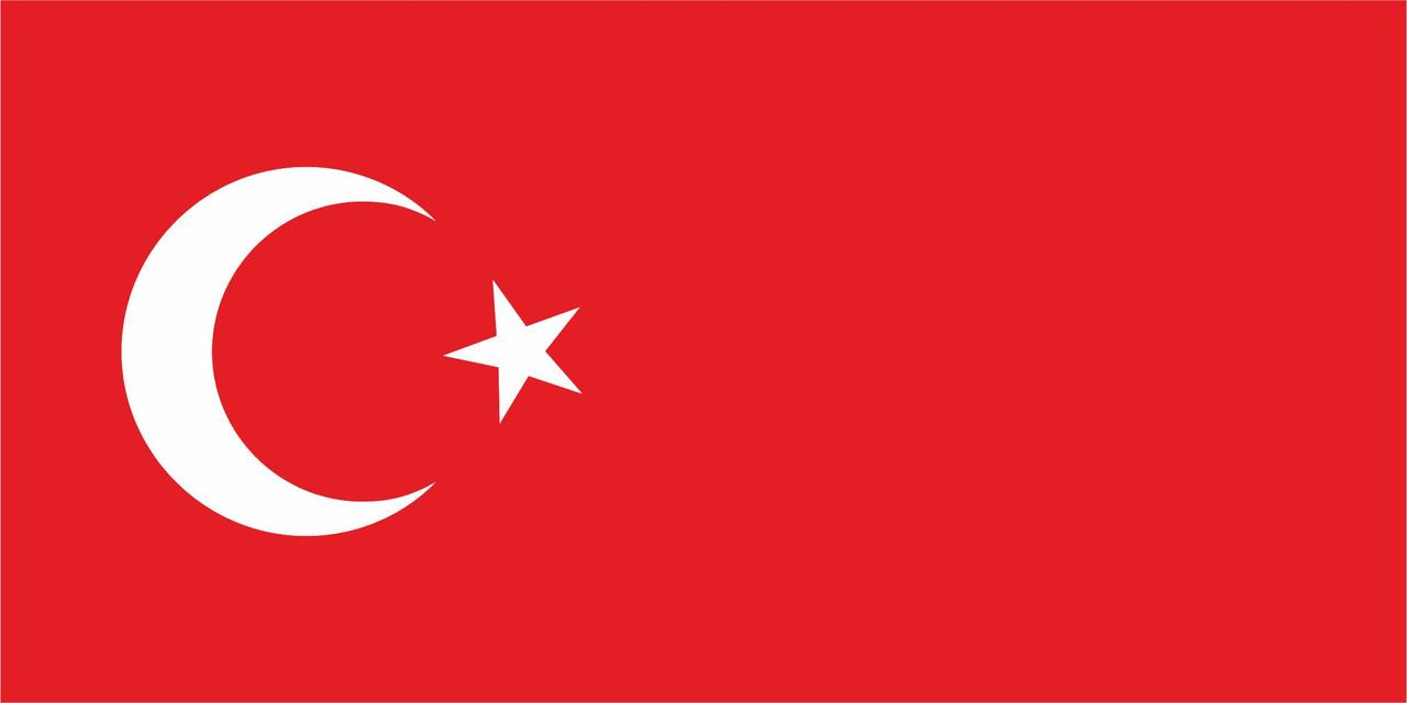 Флаг Турции 1 х 2 метра.