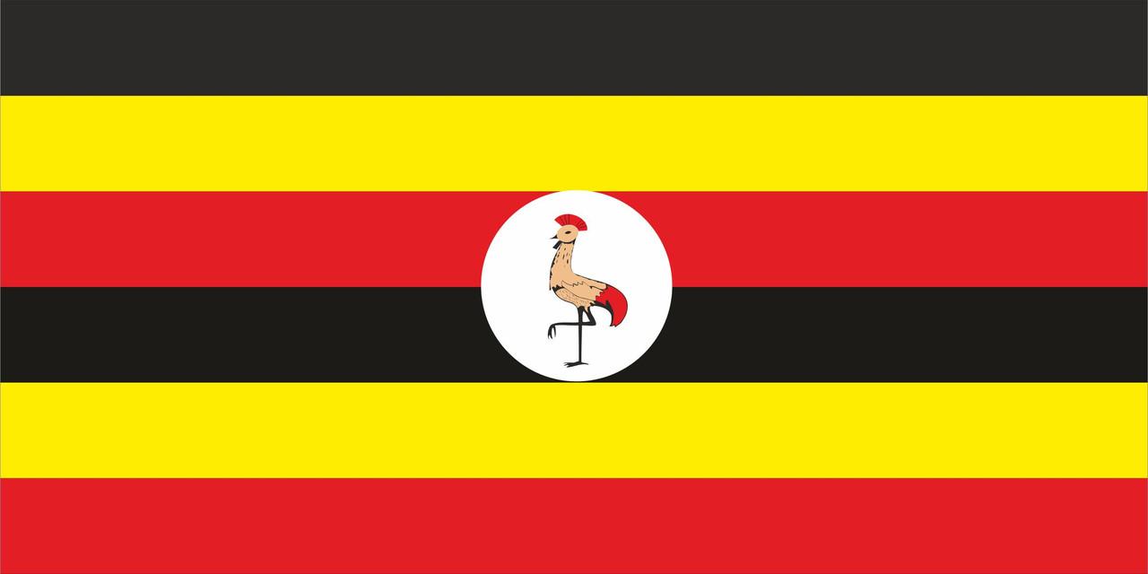 Флаг Уганды 1 х 2 метра.