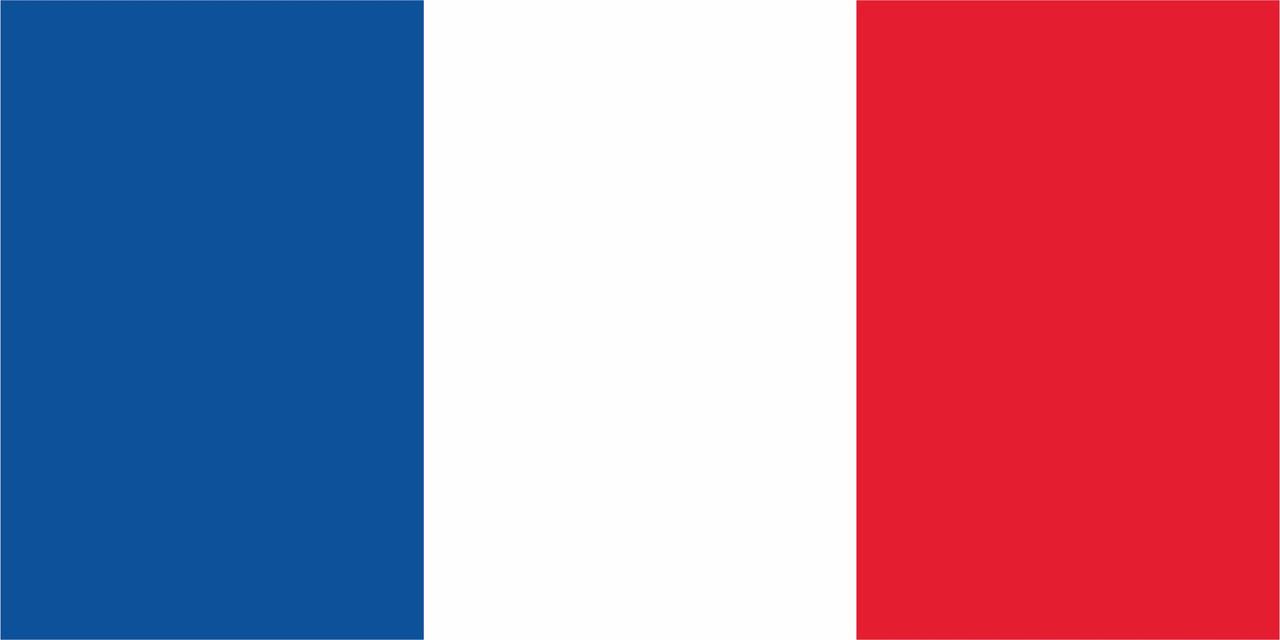 Флаг Франции 1 х 2 метра.