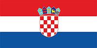 Флаг Хорватии 1 х 2 метра.