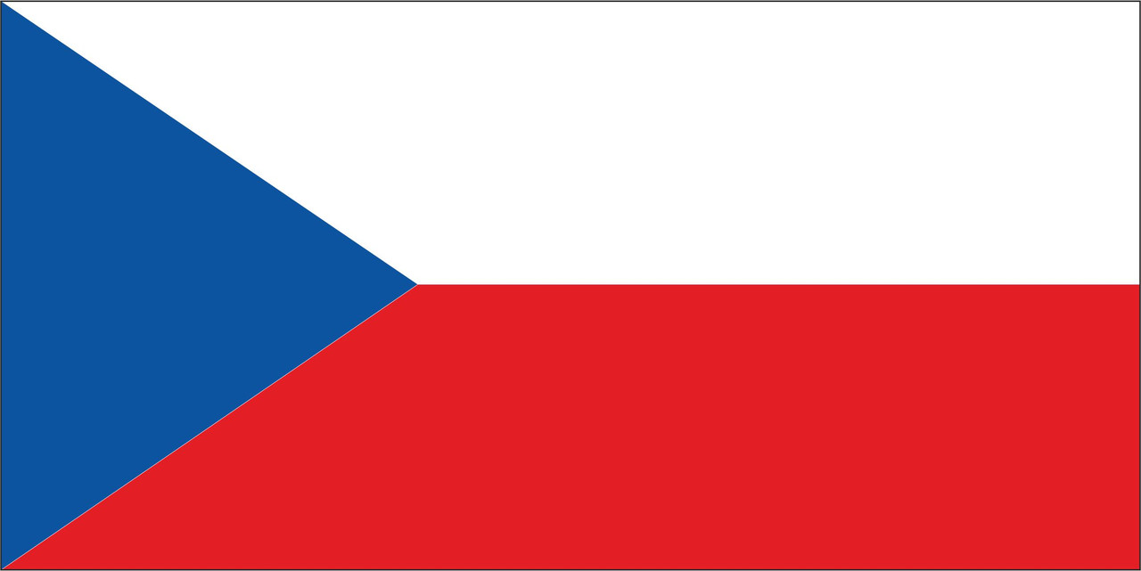 Флаг Чехии 1 х 2 метра.