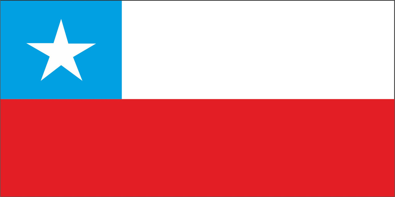 Флаг Чили 1 х 2 метра.