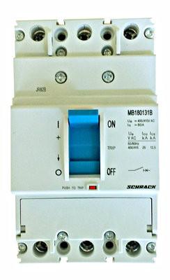 Автоматический выключатель 3 полюса 80А