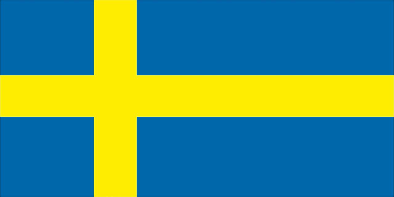 Флаг Швеции 1 х 2 метра.