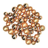 ВИНТЕР 2015 Украшение шар, 50 шт., золотой
