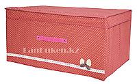 Органайзер (1) для хранения вещей 61* 31* 40 см, коробка для хранения