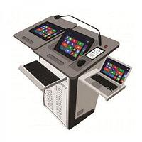 Мультимедийный цифровой подиум PK-190D Podium (Stand Dual)
