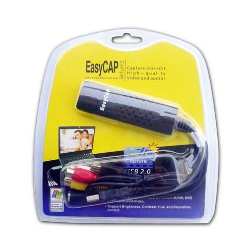 Устройство видеозахвата USB EasyCAP Video Adapter with Audio (Внешняя карта видеозахвата), Алматы