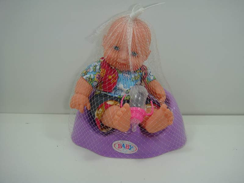 Кукла с горшком