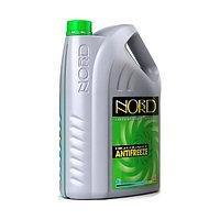 Антифриз NORD -40 зеленый, красный 10л