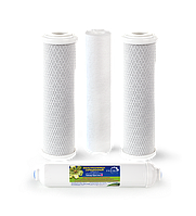 Замена фильтрующих элементов системы обратного осмоса