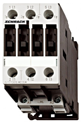 Контактор 5,5кВт/400В, катушка 24В перем., тока, 50Гц