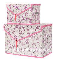 Органайзер для хранения вещей 2 в 1, коробка для хранения бабочка