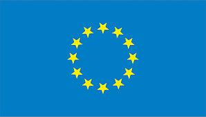Флаг ЕС. Европейский союз.