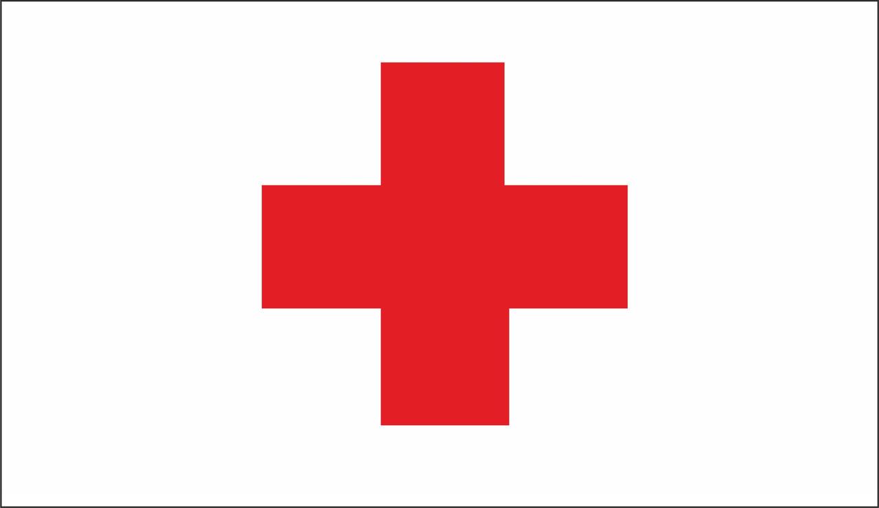 Флаг Красный Крест. Международный комитет Красного Креста