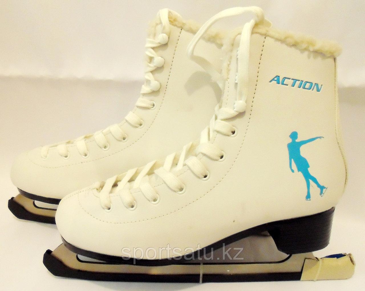 Ледовые коньки женские ACTION