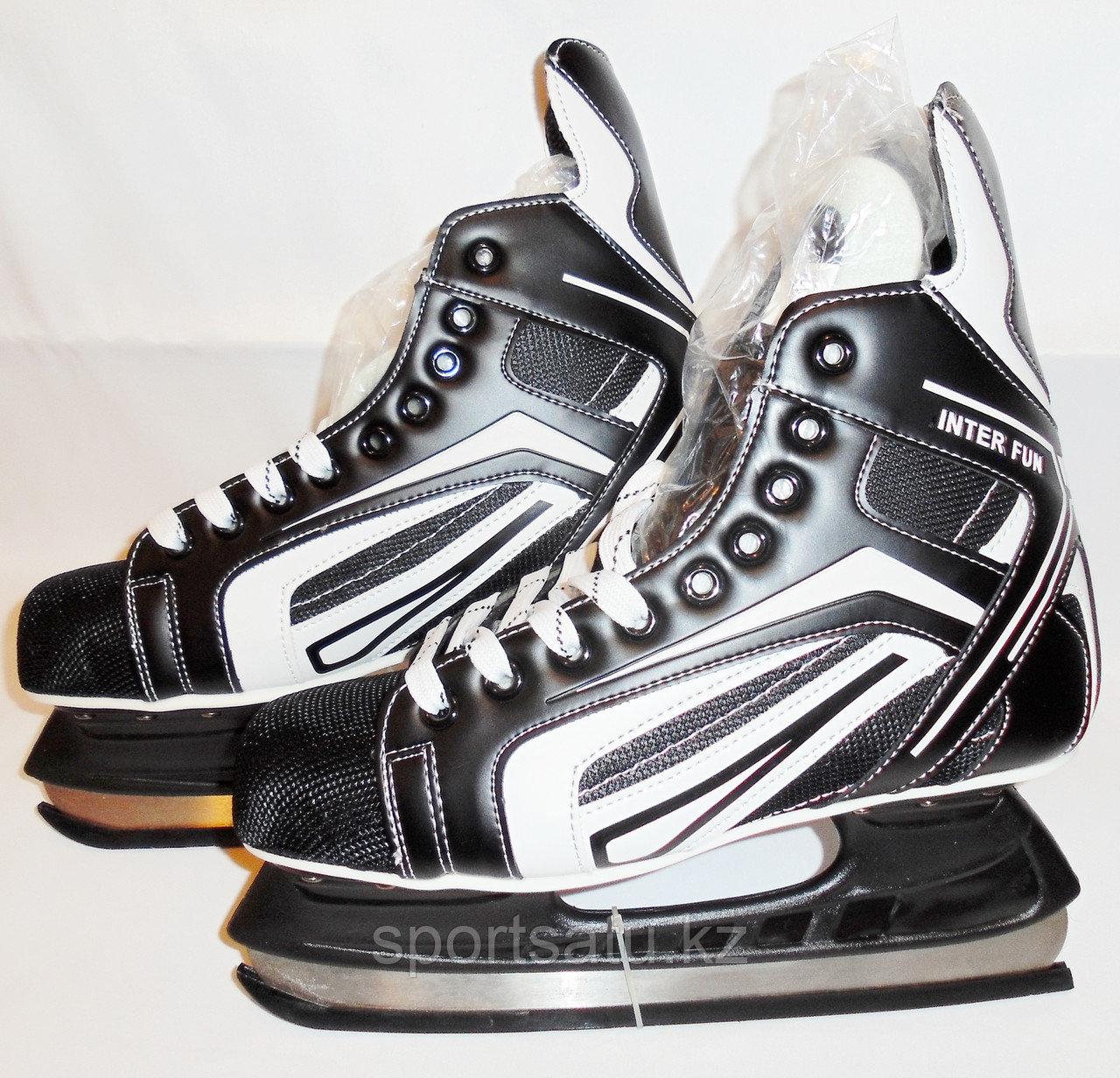 Хоккейные коньки INTER FUN
