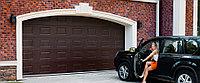 Гаражные секционные ворота DoorHan, фото 1