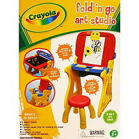 Crayola Парта со стульчиком и настольным мольбертом, фото 1