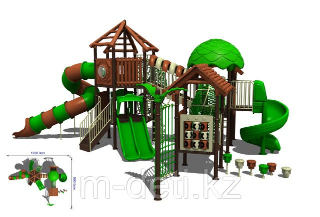 Детский игровой комплекс Купить №10-1802