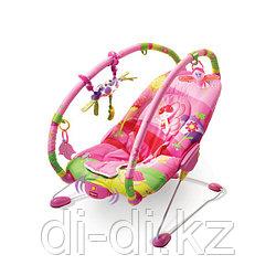 """Tiny Love Вибрирующее кресло-шезлонг """"Принцесса"""" (свет, звук)"""
