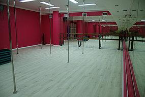 Установка зеркал в танцевальный зал (5 октября 2015) 5